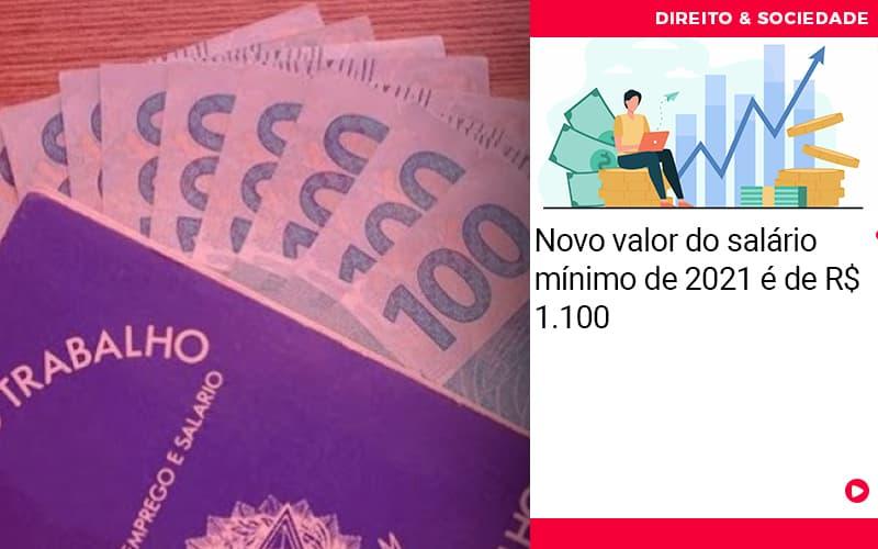 Novo Valor Do Salario Minimo De 2021 E De 1100 - Escritório de Advocacia em São Paulo - SP   Macedo Advocacia - Novo valor do salário mínimo de 2021 é de R$ 1.100